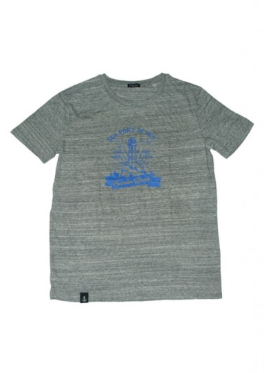Camiseta Seaport Gris oscuro