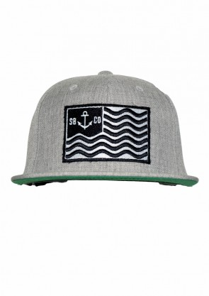 Gorra Sea is my Land Grey