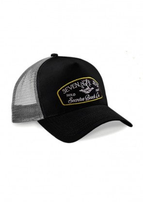Gorra Seven Seas Black Grey