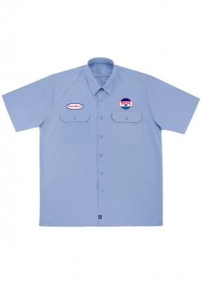 Camisa Seven Seas Celeste