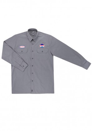 Camisa Seven Seas Grey old school