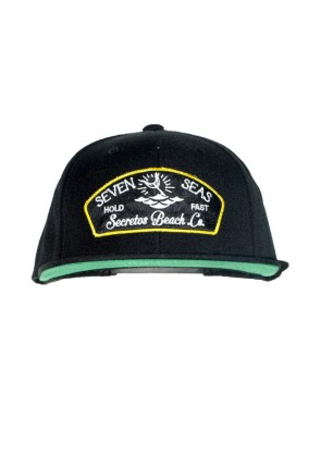 Gorra Seven Seas Black