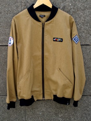 Bomber Navy color Camel