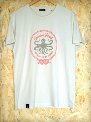 Camiseta Octopus Cream