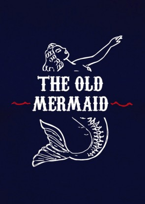 Camiseta The Old Mermaid Navy