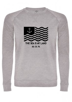 Sudadera The Sea Is My Land